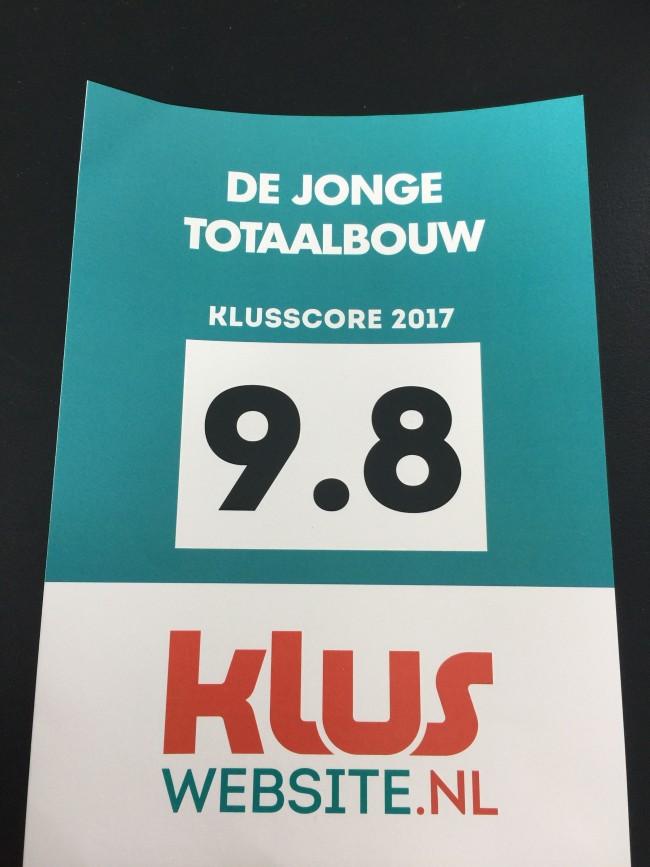 Klusscore 2017
